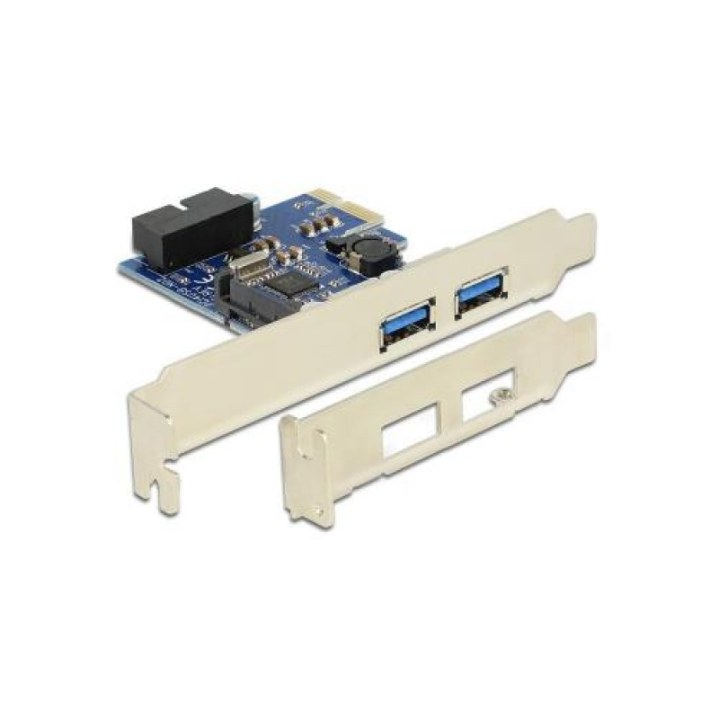 DeLOCK 89315 interface cards/adapter Internal USB 3.0 Blue,White