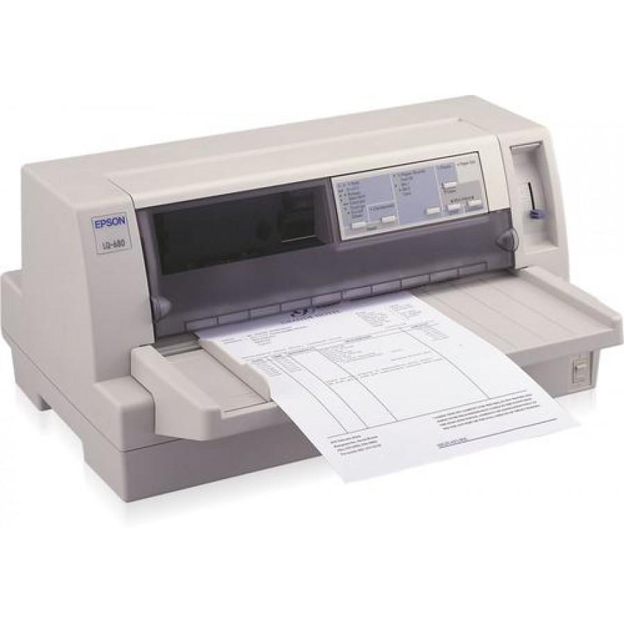 Epson LQ-680 Pro dot matrix printer Grey