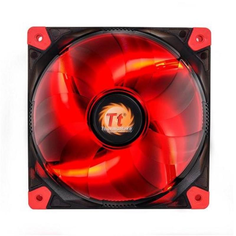 Thermaltake Luna 12 LED Re Computer case Fan Black,Red,Transparent