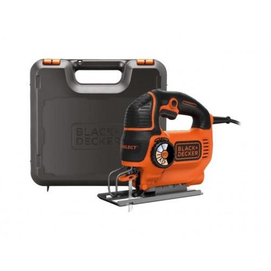 Black & Decker KS801SEK power jigsaw 550 W Orange,Black