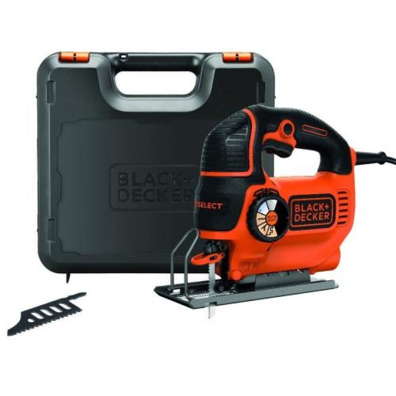 Black & Decker KS901SEK power jigsaw 620 W Black,Orange