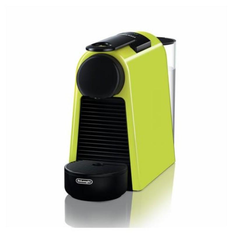 DeLonghi Essenza Mini EN 85.L coffee maker Freestanding Pod coffee machine Black,Lime 0.6 L Fully-auto