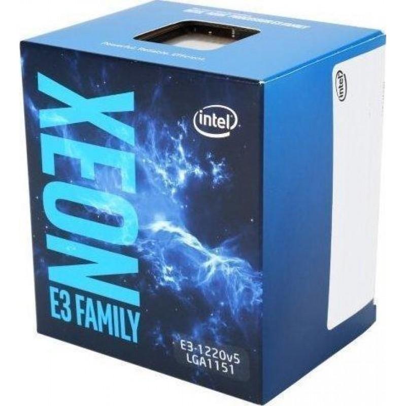 Intel Xeon E3-1220V5 processor 3 GHz Box 8 MB Smart Cache