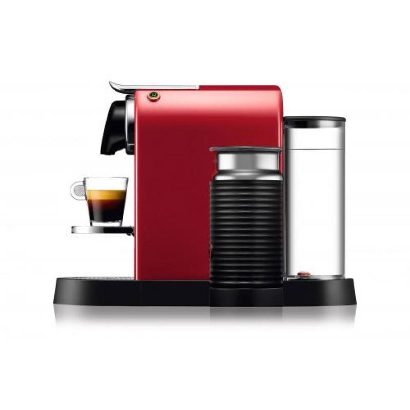Krups CitiZ & Milk XN7605 Countertop Pod coffee machine 1 L Cherry,Red