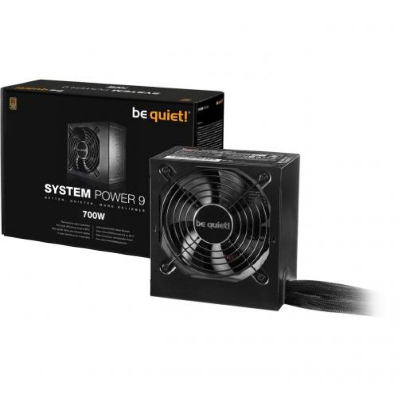 be quiet! System Power 9 power supply unit 700 W ATX Black