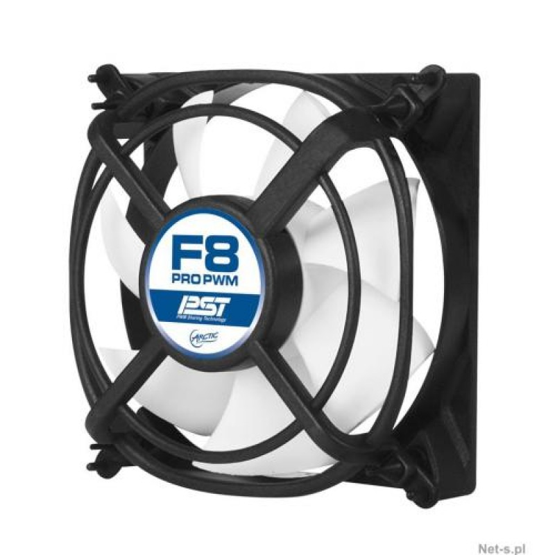 ARCTIC F8 Pro - Case Fan with Vibration Absorption