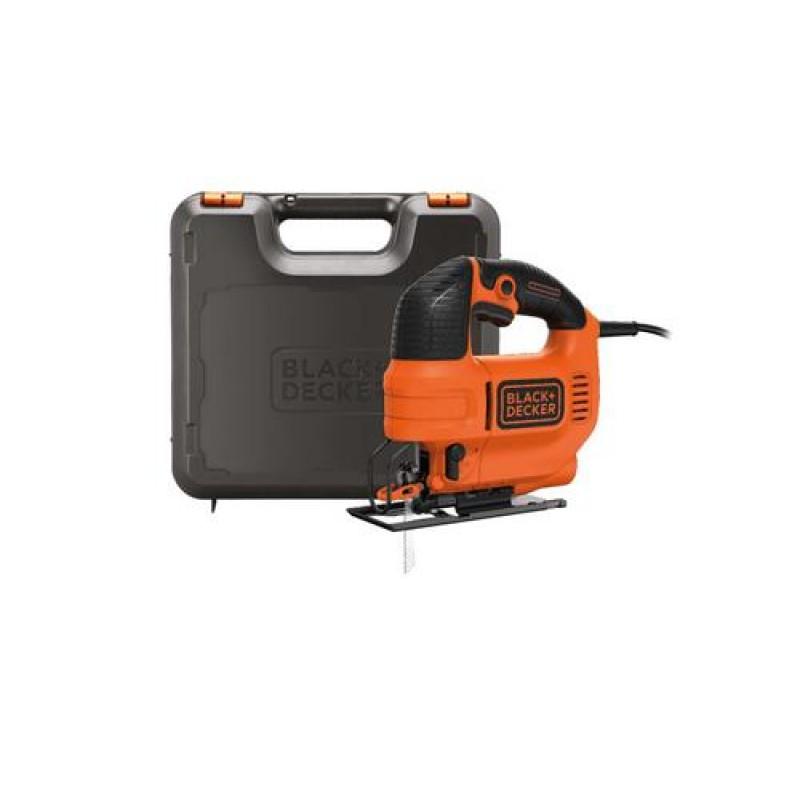 Black & Decker KS701PEK power jigsaw 520 W Black,Orange