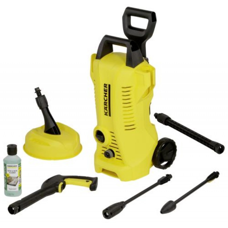 Kärcher K 2 Full Control Home pressure washer Upright Electric Black,Yellow 360 l/h 1400 W