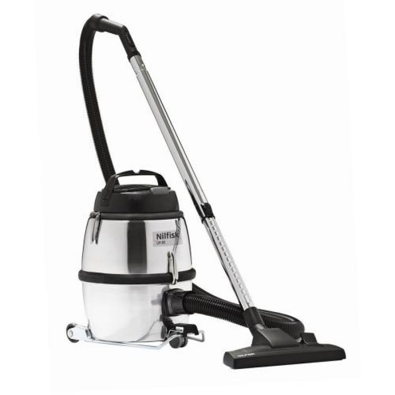 Nilfisk GM 80C 900 W Drum vacuum 6.25 L Black,Silver