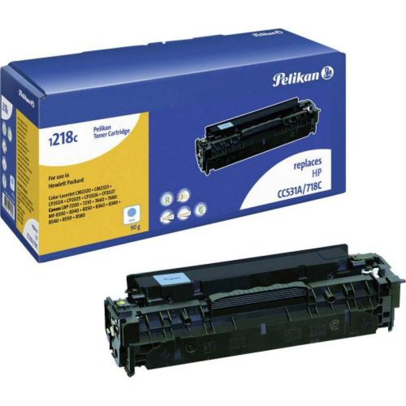 Pelikan 4284273 toner cartridge Cyan 1 pc(s) Black