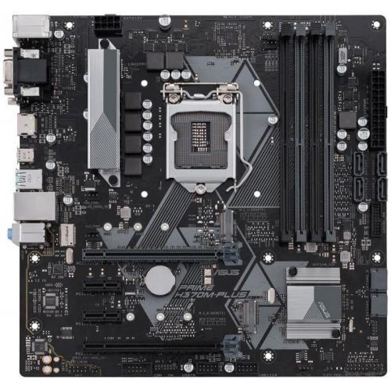 ASUS PRIME H370M-PLUS LGA 1151 (Socket H4) Intel® H370 Micro ATX