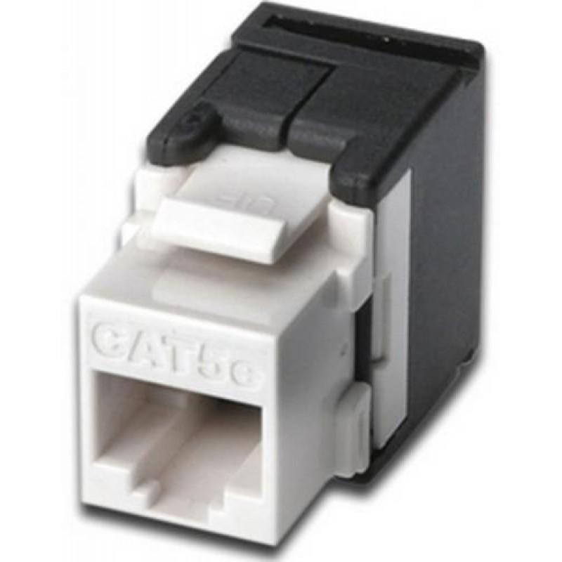 Digitus DN-93502 keystone module Black,White