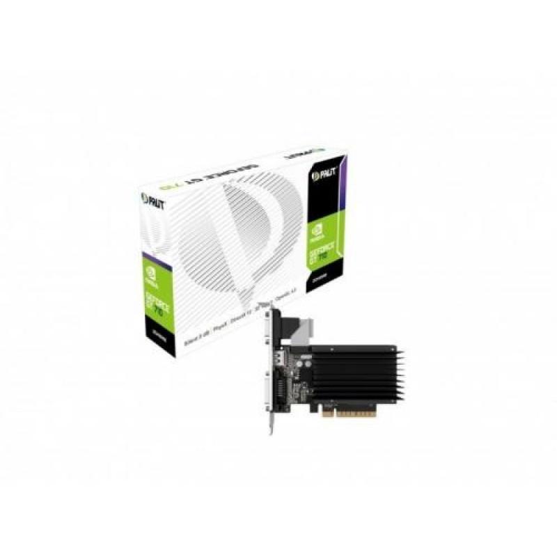 Palit GeForce GT 710 2GB Black,Metallic