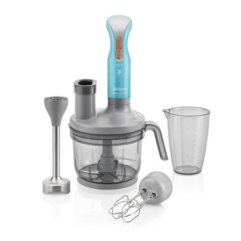 Arzum AR1048 blender 0.9 L Immersion blender Blue,Grey,Transparent 1500 W