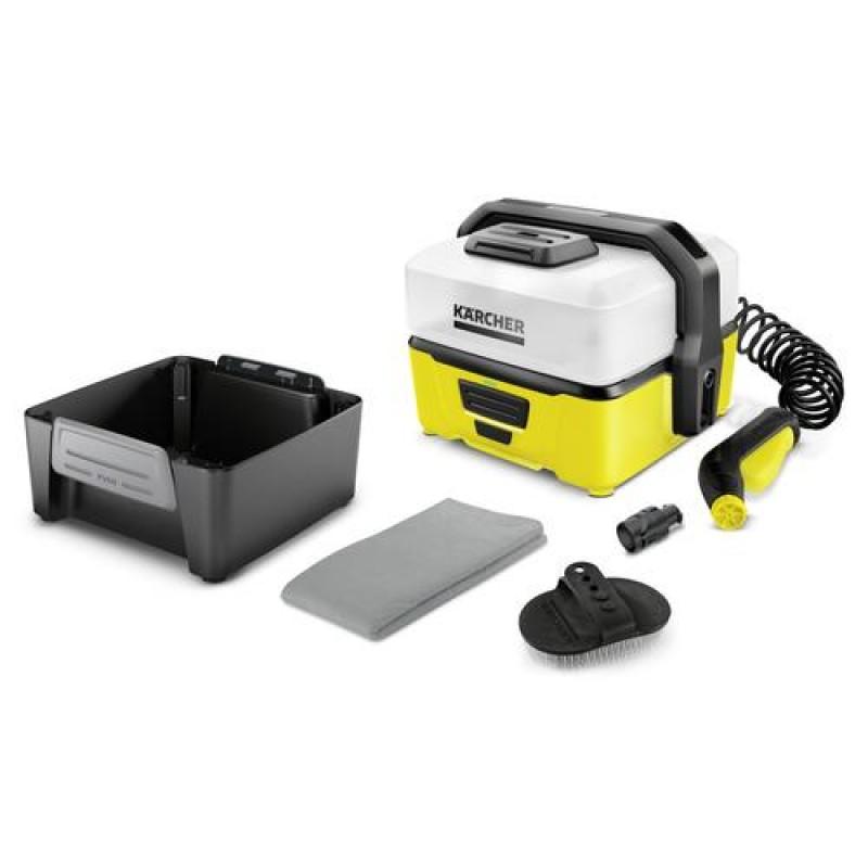 Kärcher OC 3 Pet Box pressure washer Compact Battery Black,Yellow 120 l/h 45 W