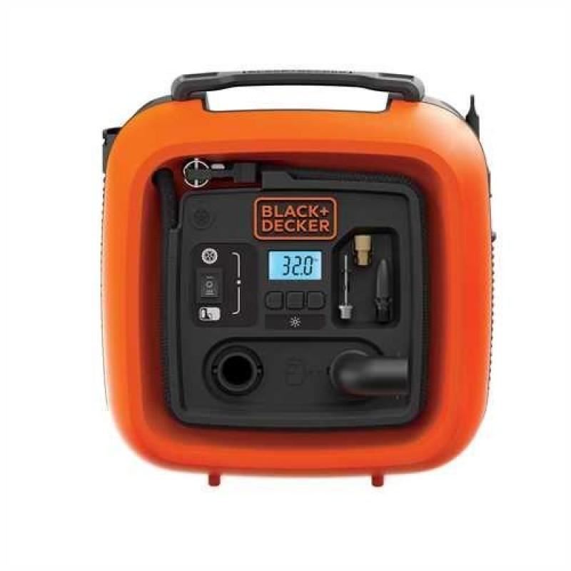 Black & Decker ASI400 air compressor 160 l/min Black,Orange