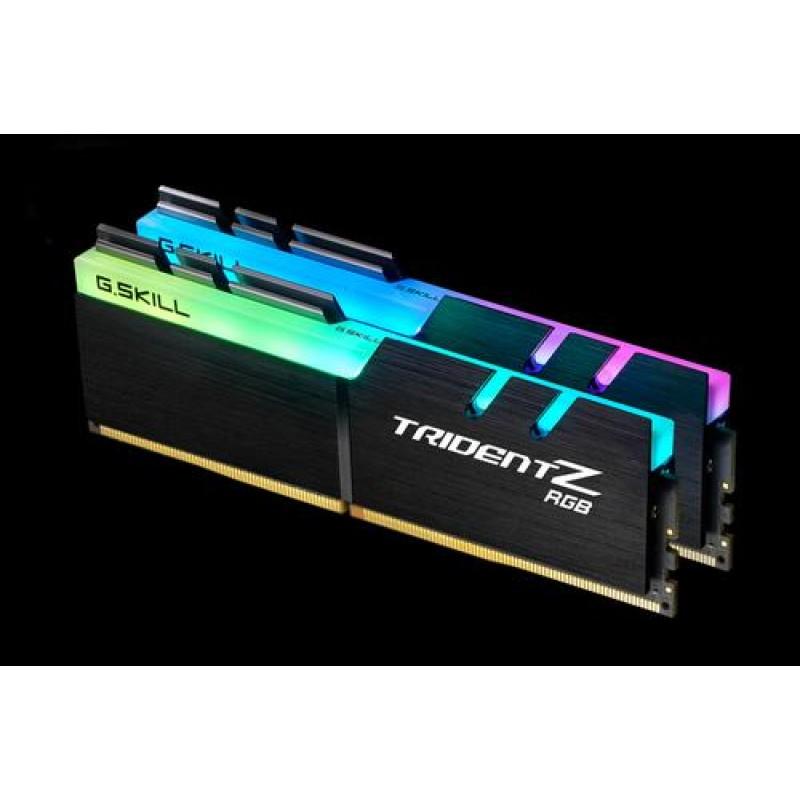 G.Skill Trident Z RGB F4-3200C16D-16GTZRX memory module 16 GB DDR4 3200 MHz Black
