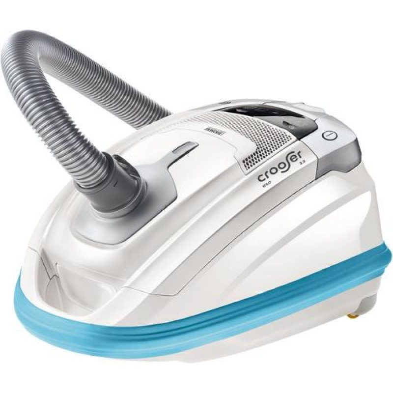 Thomas crooSer eco 2.0 650 W Cylinder vacuum 3.5 L Blue,White