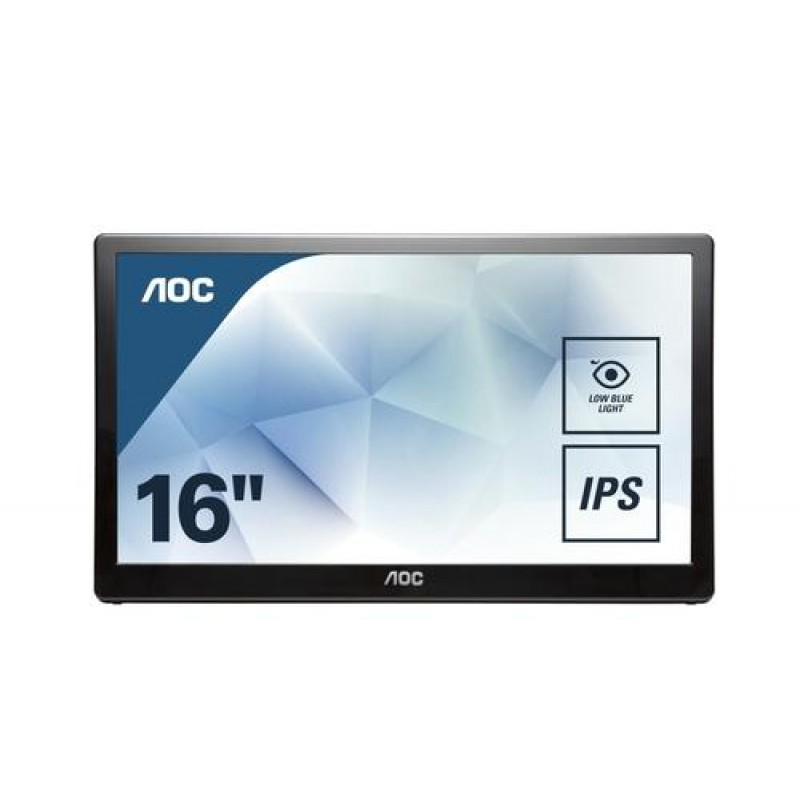 AOC Style-line I1659FWUX computer monitor 39.6 cm (15.6