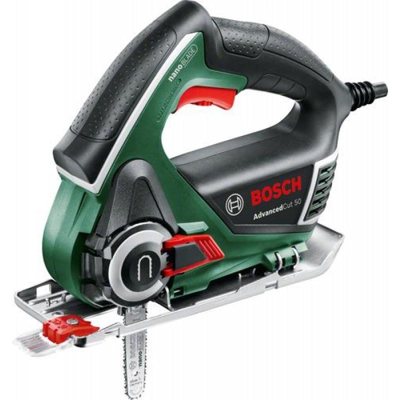 Bosch AdvancedCut 50 power jigsaw 500 W 1.7 kg Black,Green,Red