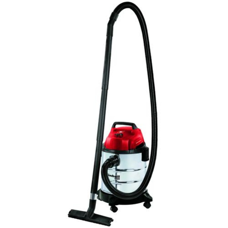 Einhell TH-VC 1820 S 1250 W Drum vacuum 20 L Red,Stainless steel
