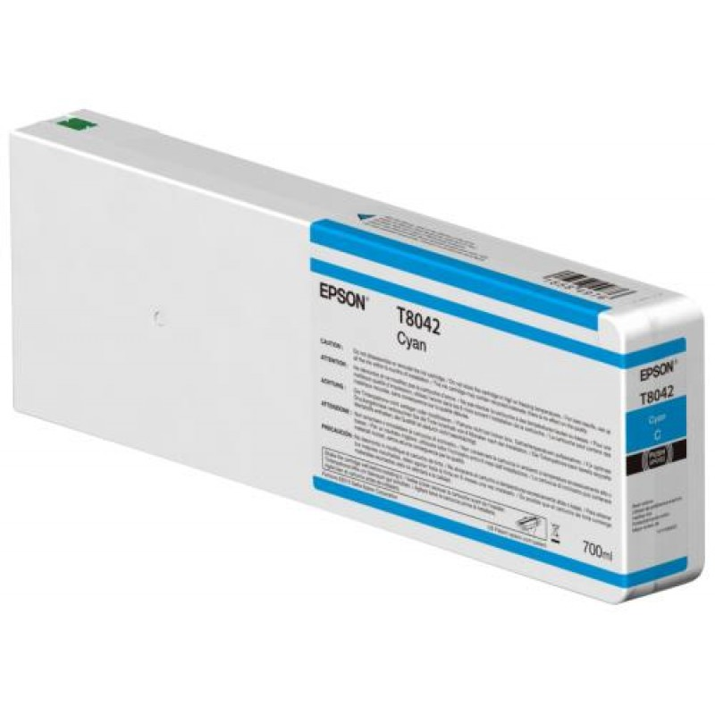 Epson Singlepack Cyan T804200 UltraChrome HDX/HD 700ml