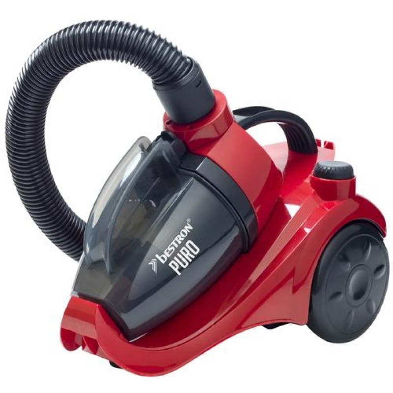 Bestron ABL830RB vacuum 700 W Cylinder vacuum 1 L Black,Red