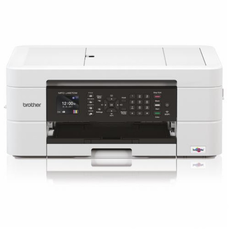 Brother MFC-J497DW multifunctional Inkjet 27 ppm 6000 x 1200 DPI A4 Wi-Fi White