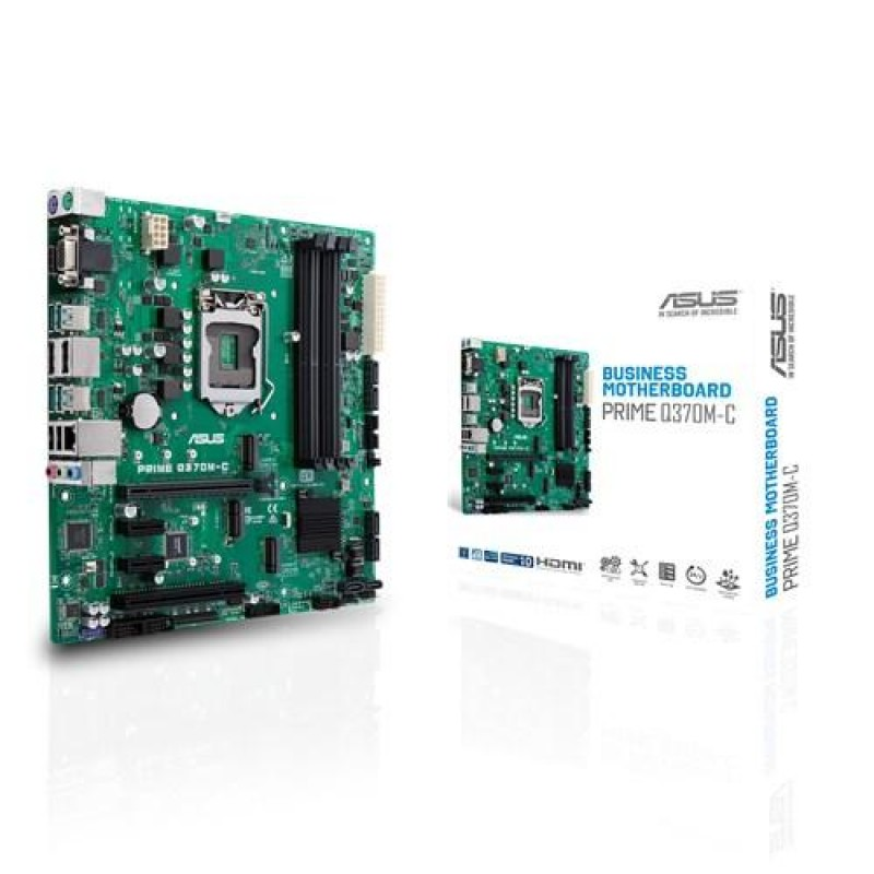 ASUS Q370M-C motherboard LGA 1151 (Socket H4) Intel Q370 Mini ATX