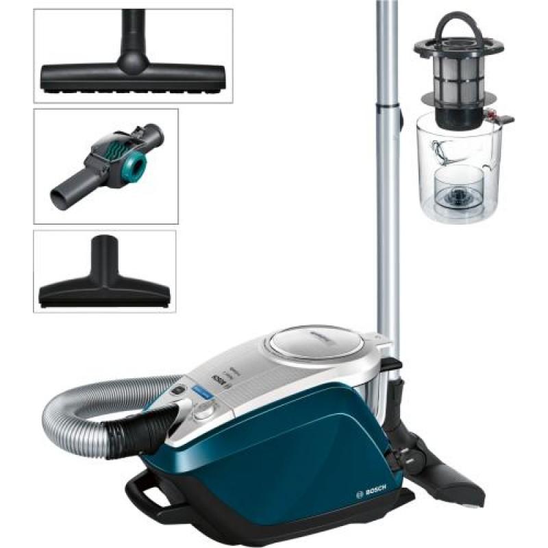 Bosch BGS5FMLY vacuum 700 W Cylinder vacuum Blue,Grey