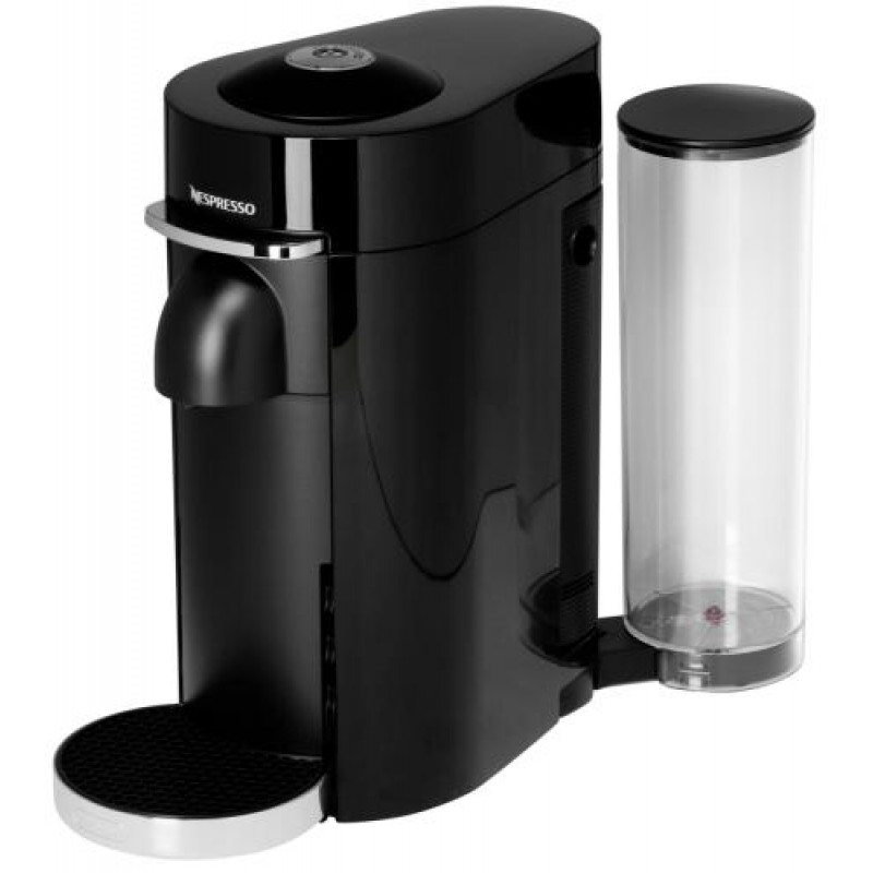 DeLonghi Nespresso Vertuo ENV 155.B coffee maker Freestanding Pod coffee machine Black 1.7 L 1 cups Fully-auto