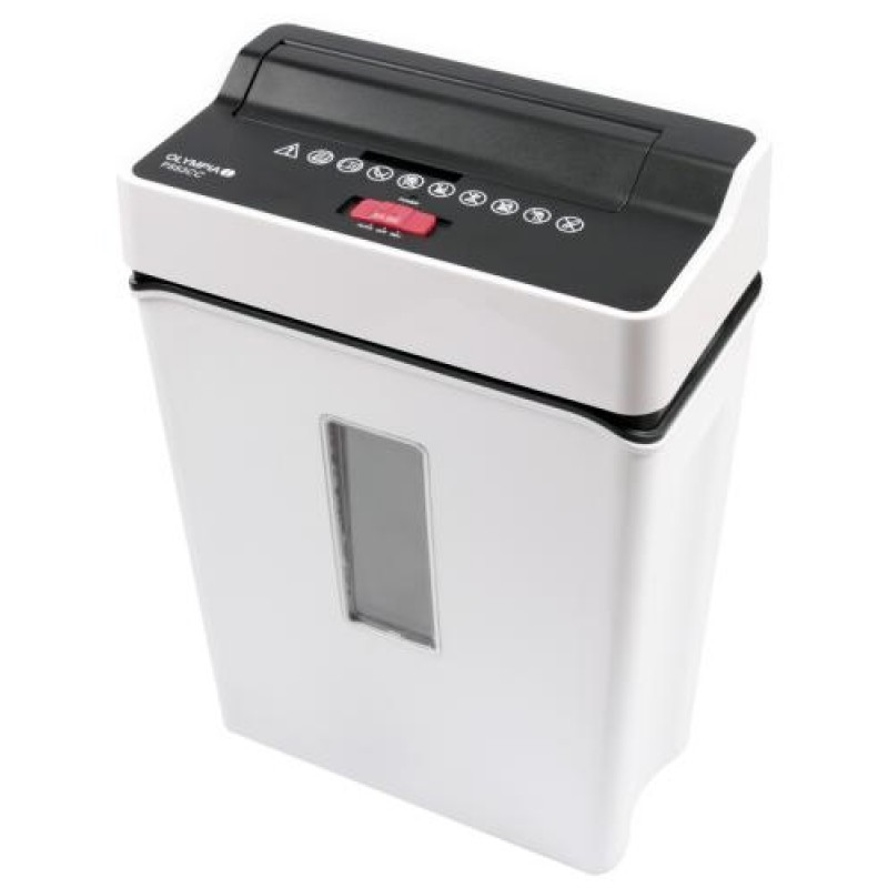 Olympia PS 53 CC paper shredder Cross shredding 22 cm 75 dB White