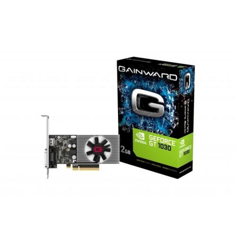 Gainward 426018336-4085 graphics card GeForce GT 1030 2 GB GDDR4 Black,Grey