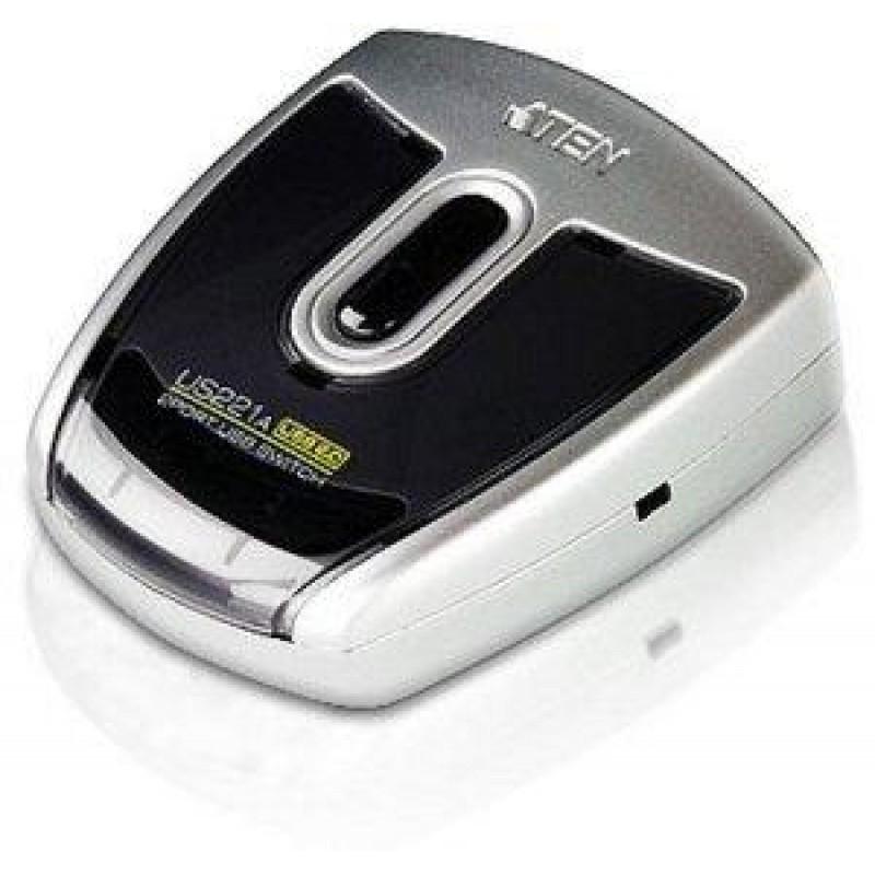 ATEN 2Port USB 20 Peripheral Switch US221A USBHub