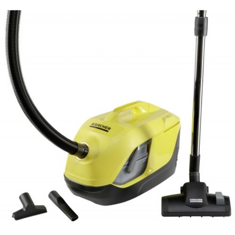 Kärcher DS 6 650 W Cylinder vacuum Black,Yellow