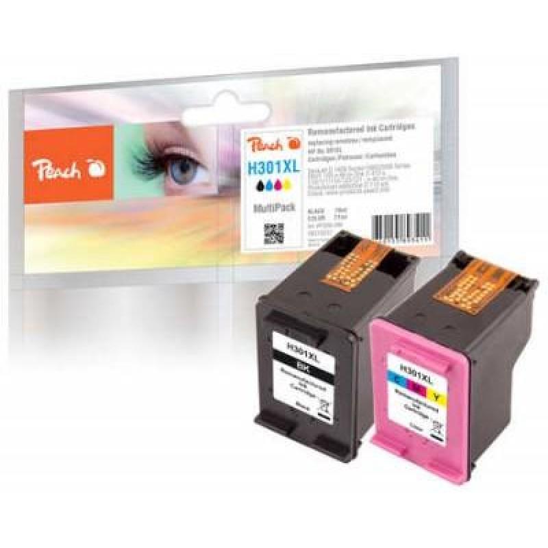 Peach 316258 ink cartridge Black,Cyan,Magenta,Yellow Multipack 2 pc(s)