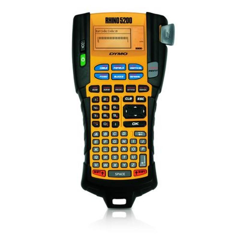 DYMO RHINO 5200 label printer Thermal transfer 180 x 180 DPI Black,Yellow