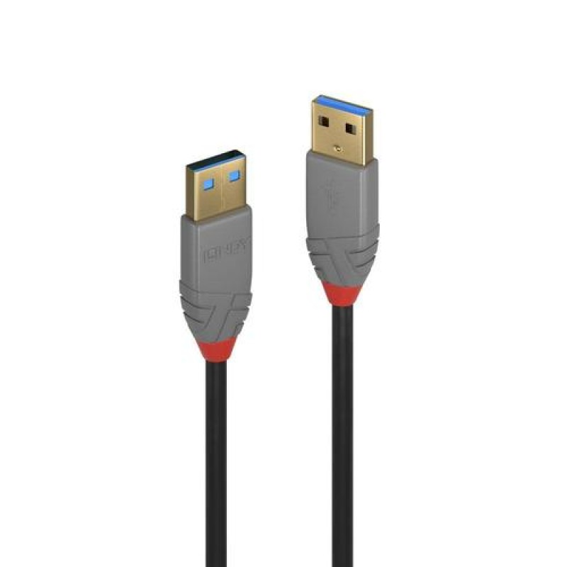Lindy 36752 USB cable 2 m USB A Black