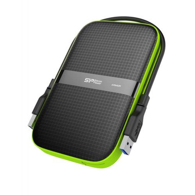 Silicon Power Armor A60 external hard drive 2000 GB Black