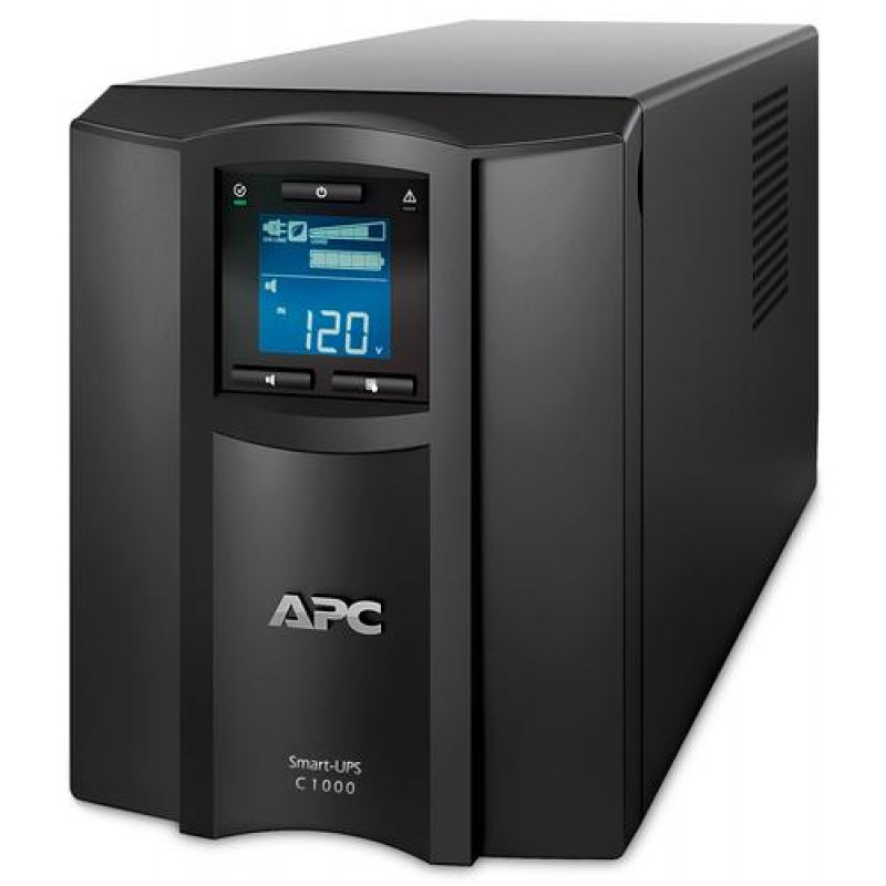 APC SMT1000IC uninterruptible power supply (UPS) Line-Interactive 1000 VA 700 W 10 AC outlet(s) Black
