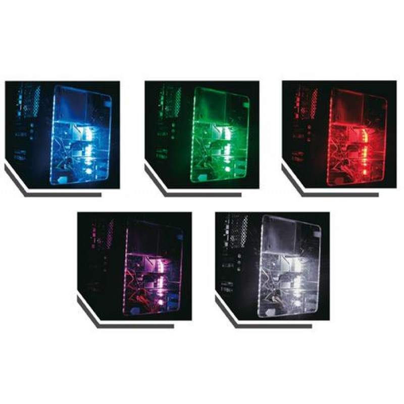 LC-Power LC-PCI-LED computer case part Computer case light kit Blue,Green,Purple,Red,White,Yellow