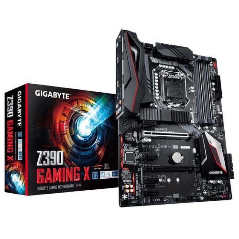 Gigabyte Z390 Gaming X motherboard LGA 1151 (Socket H4) Intel Z390 ATX