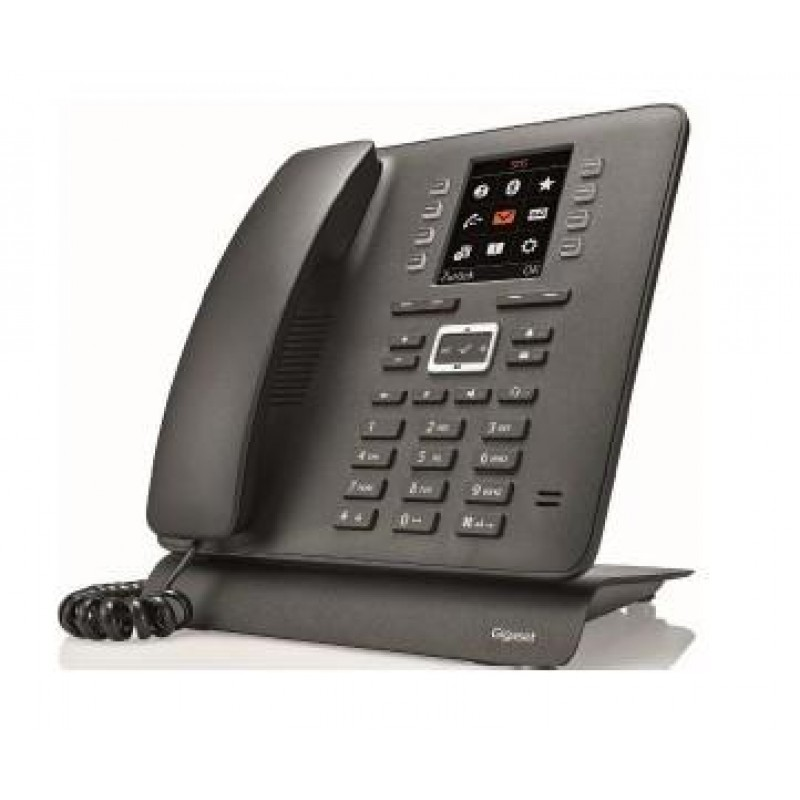 Gigaset T480HX DECT telephone Black