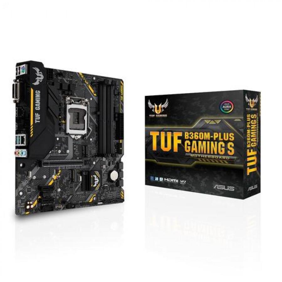 ASUS TUF B360M-PLUS GAMING S LGA 1151 (Socket H4) Intel® B360 Micro ATX
