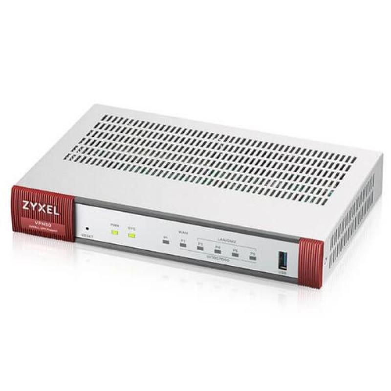 Zyxel VPN Firewall VPN 50 hardware firewall 800 Mbit/s