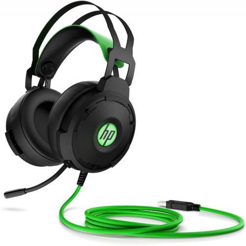 HP Pavilion Gaming 600 Binaural Head-band Black,Green