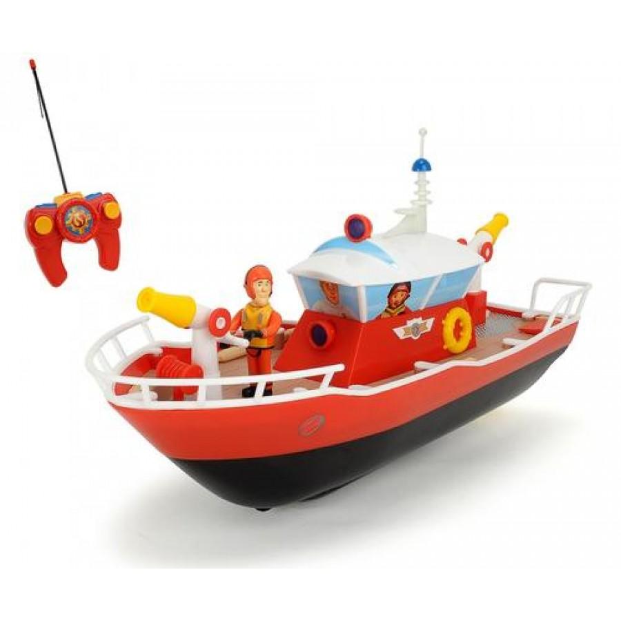 Dickie Toys RC Fireman Sam Titan Black,Red,White