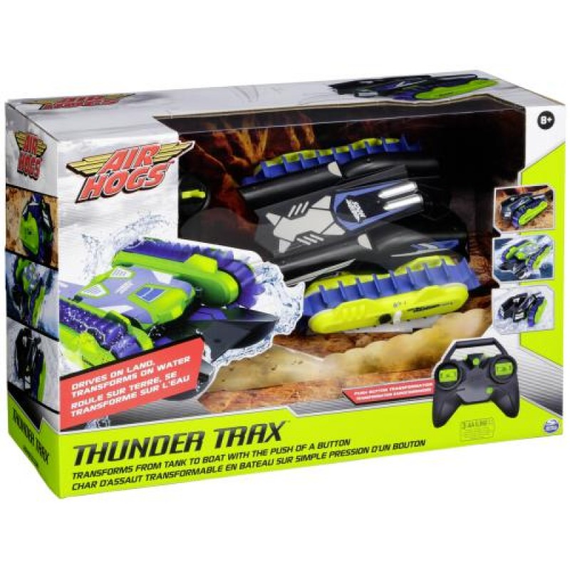 Air Hogs Thunder Trax Toy cross-country vehicle Black,Blue,Green