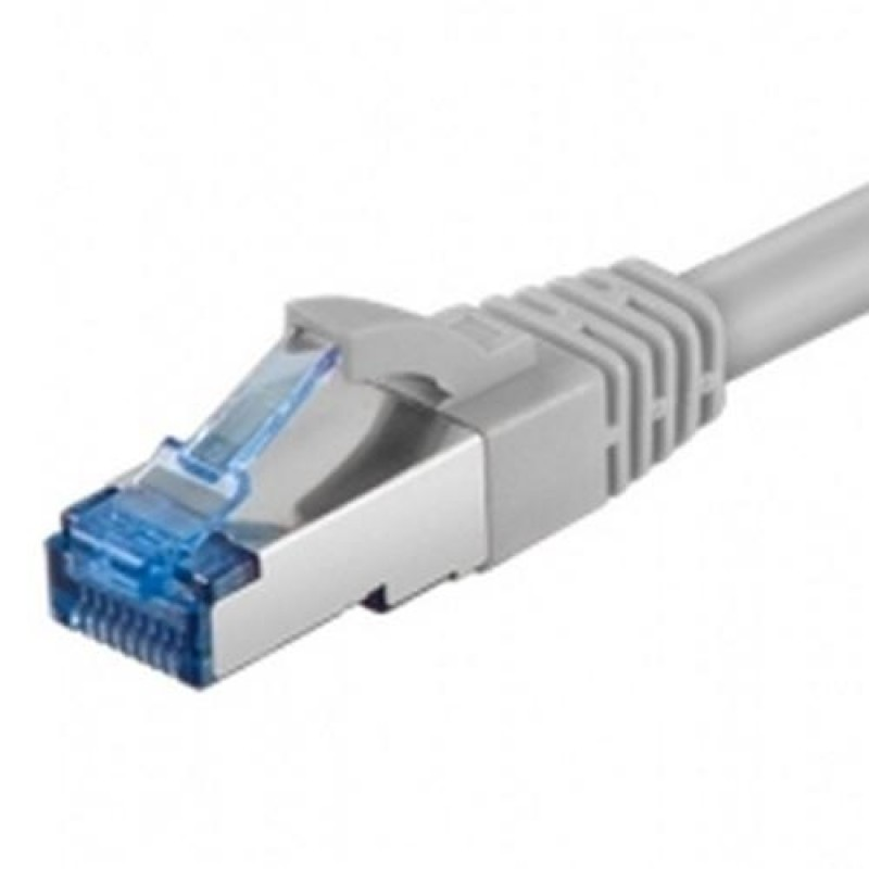 Digitus 0.5m Cat6a S/FTP networking cable S/FTP (S-STP) Grey