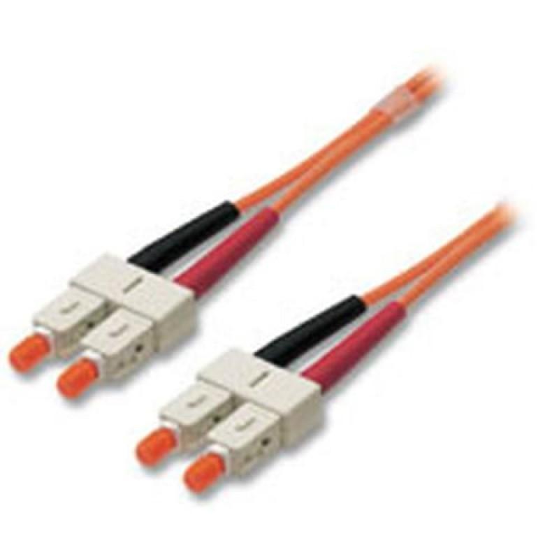 Lindy LWL Duplex SC/SC 50/125 2.0m fiber optic cable 2 m Orange
